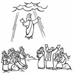 Jesus subindo ao céu