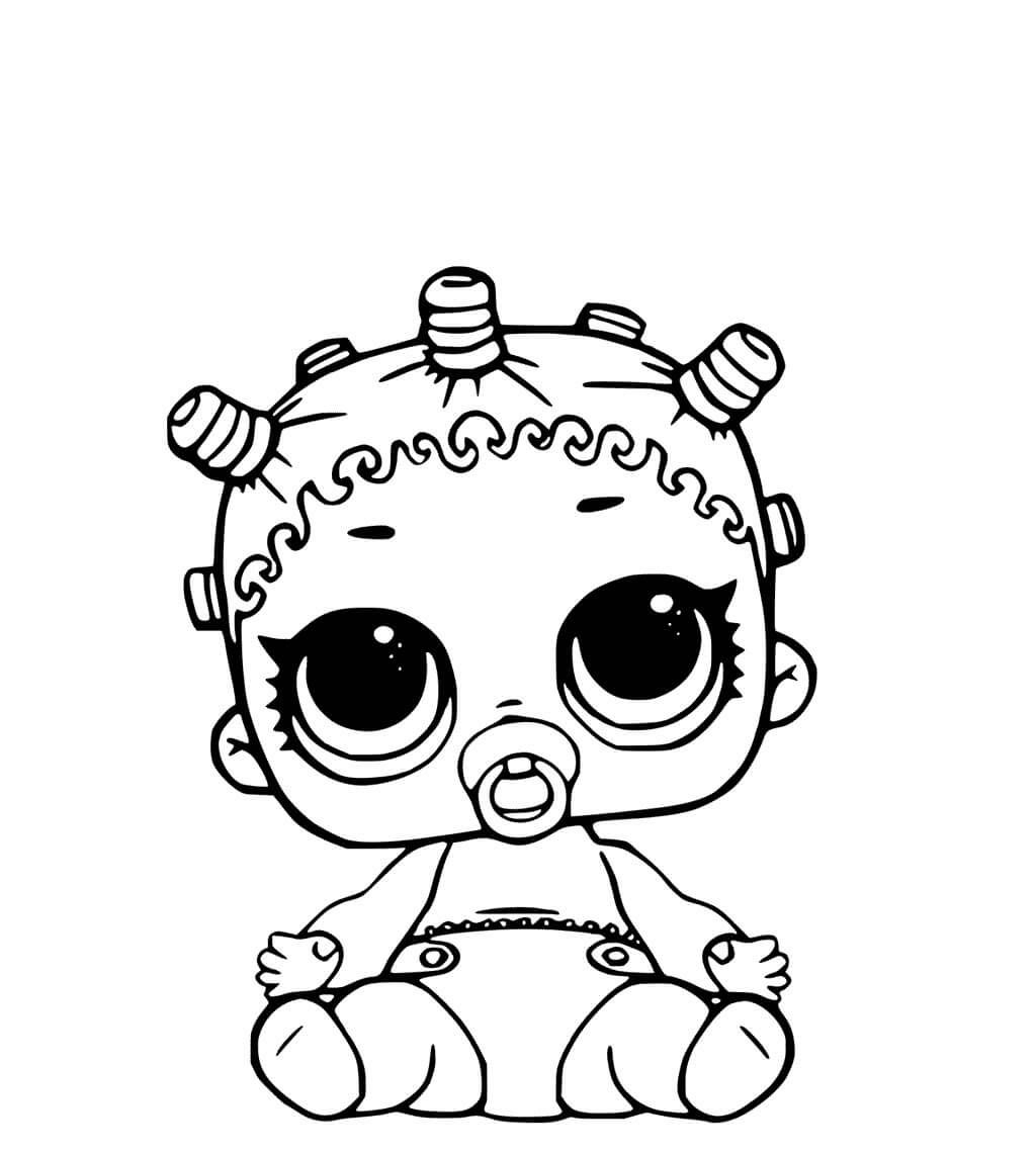 LOL Bebê para pintar