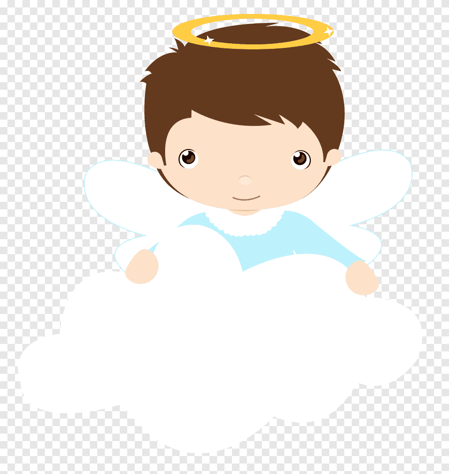 Menininho para topo de bolo batizado