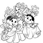 Mônica e Magali Princesas
