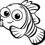 Peixinhos para colorir - 36 lindos desenhos para pintar
