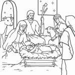 O bebê Jesus nasceu