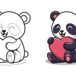 Panda e o coração