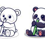 Panda-comendo-cana-doce