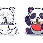 Panda-comendo-macarrão