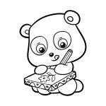 Panda-desenhando
