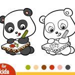 Panda-fazendo-desenhos
