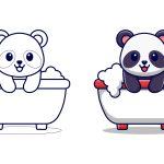 Panda-no-banho