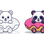 Panda-no-biscoito