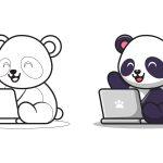 Panda-no-computador