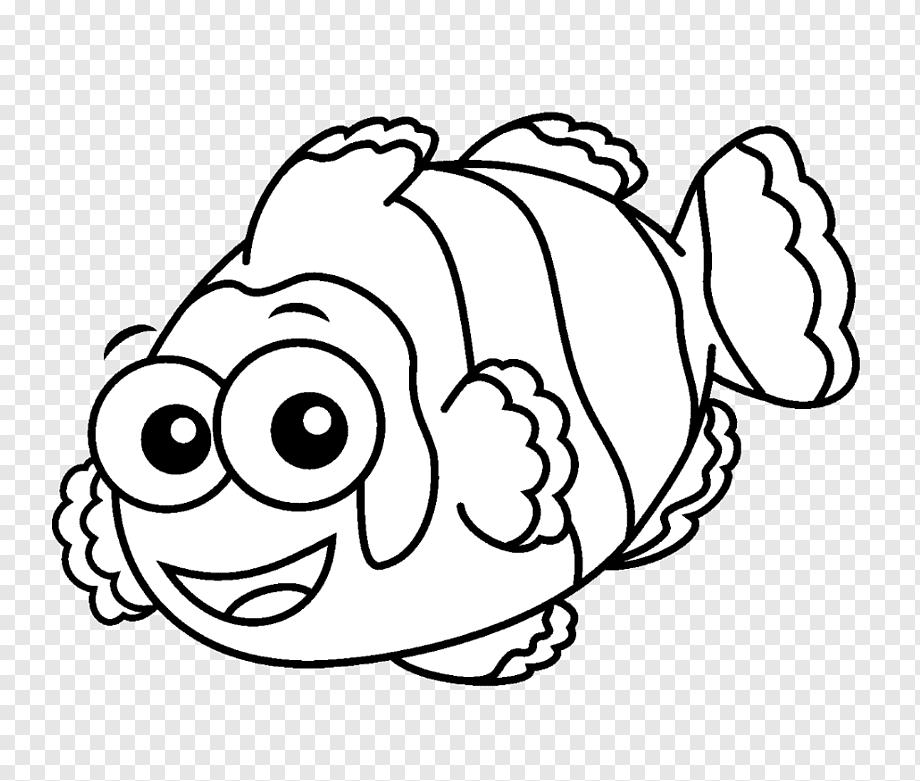 Peixinho fofo para colorir