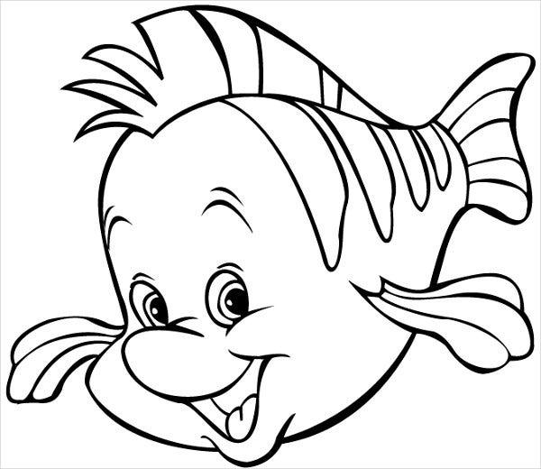 Peixinho sorridente
