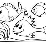 Peixinhos para imprimir e colorir