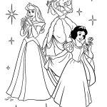 Princesas para pintar e colorir