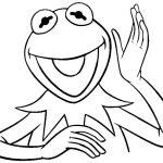 Sapo Kermit para pintar