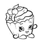 Desenho de sorvete para colorir