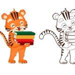 Tigre-com-livros