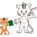 Tigre-estudante