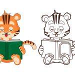 Tigre-estudioso