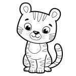 Tigre-filhote-para-pintar