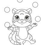Tigre-malabarista