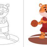 Tigre no basquete