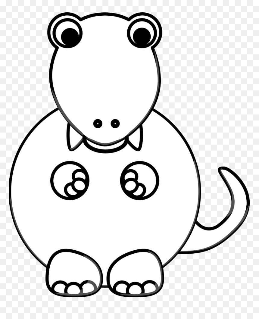 Tiranossauro Rex para pintar