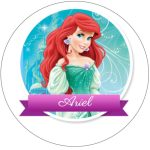 Topo de bolo Ariel