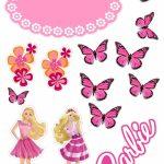 Topo de bolo Barbie