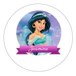 Topo de bolo Jasmine