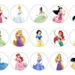 Topo de bolo as princesas