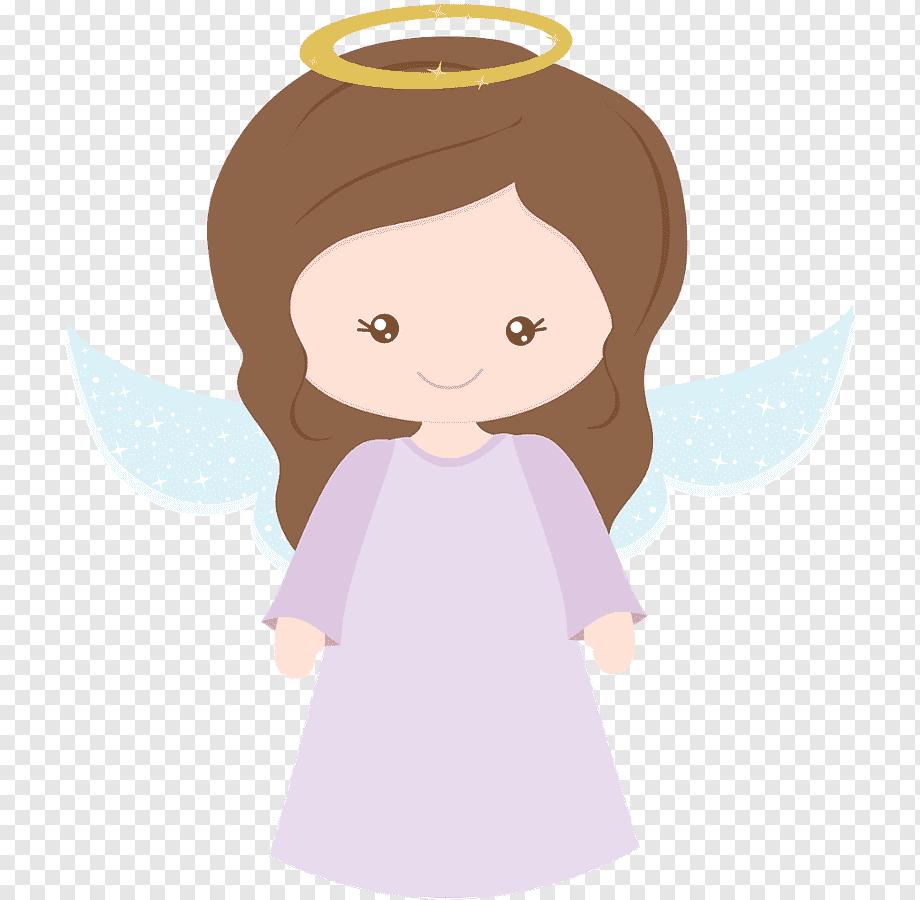 Topo de bolo feminino infantil para batismo