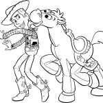 Toy Story para colorir