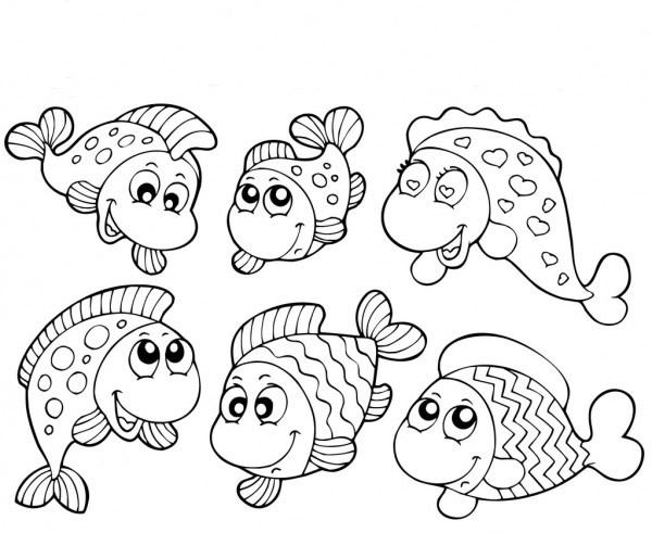 Turma de peixinhos